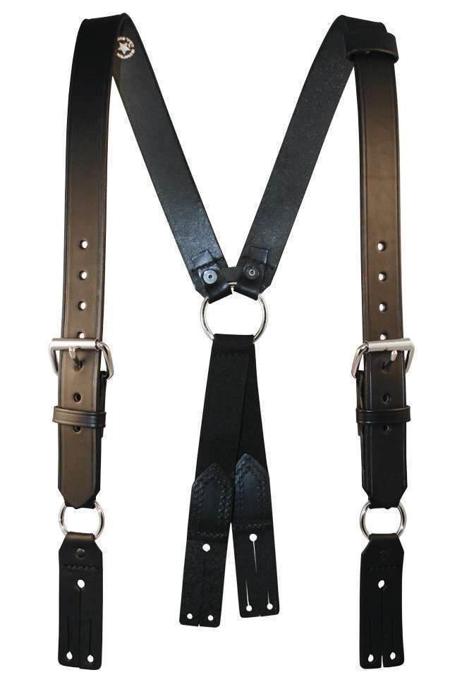 firefighter suspenders with button attachment 9175