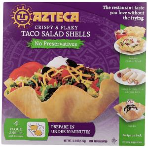 azteca form bake and fill crispy salad shell