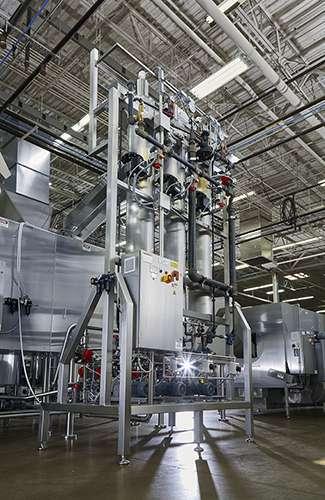 2 250 hr continuous caramel corn production line
