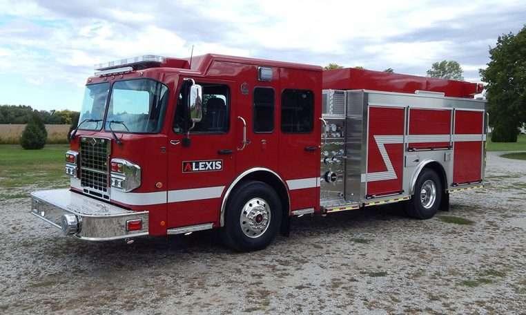 alexis fire engine pumper