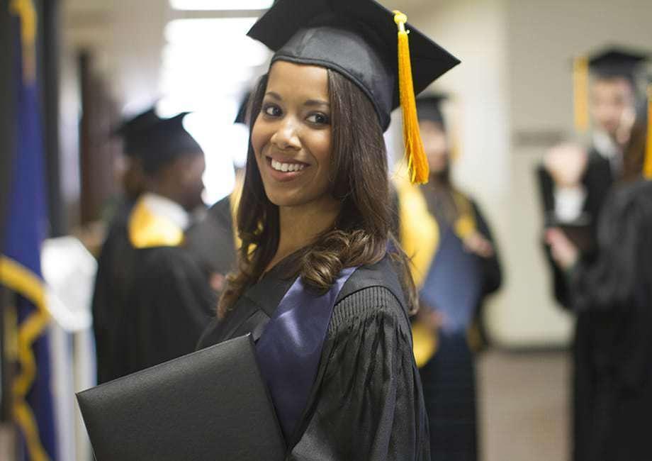 graduation cap gown