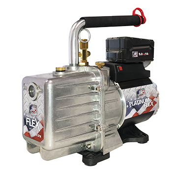 platinum flex ac battery powered vacuum pump