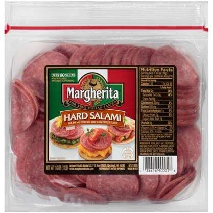 margherita hard salami