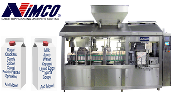 gable top carton packaging machinery systems