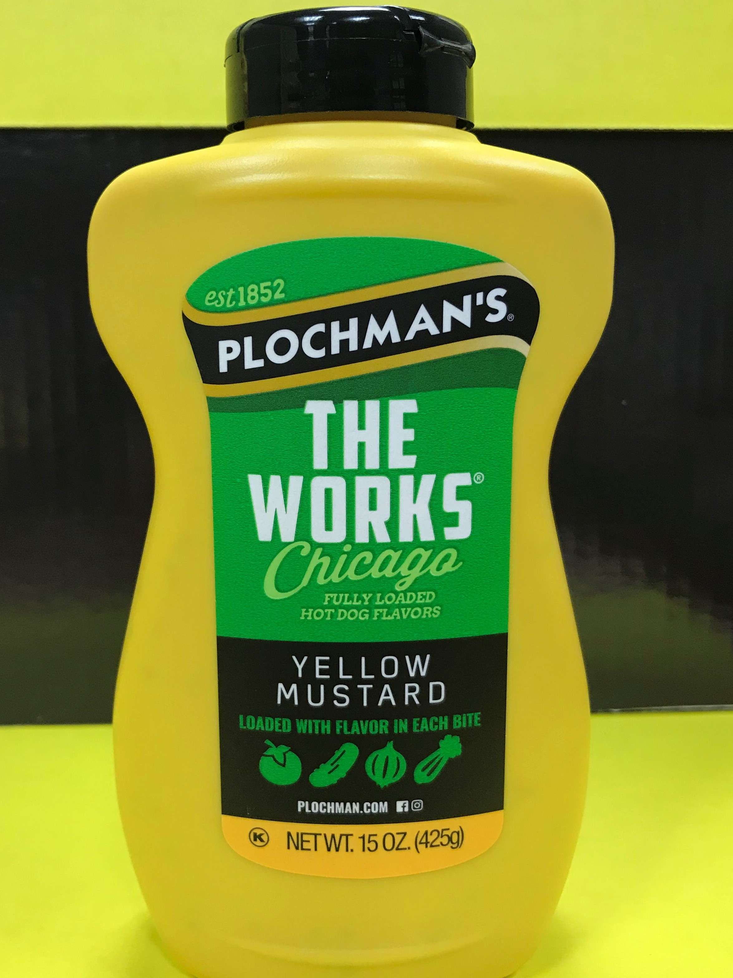 the works mustard