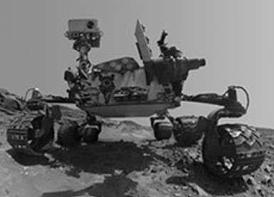 mars rover gears